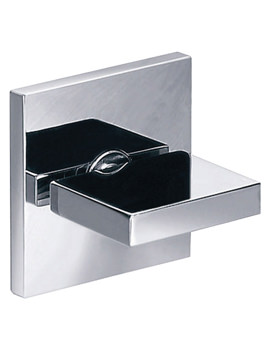 Pura Bloque Wall Mounted Chrome Finish Stop Cock