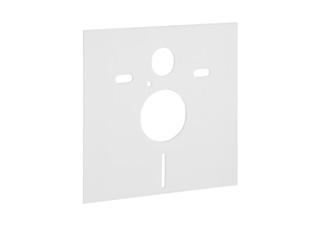 geberit acoustic insulation set for wall hung wc pan and bidet. Black Bedroom Furniture Sets. Home Design Ideas