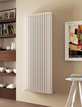 DQ Heating Modus 208 x 900mm 4 Column Radiator White - 4 To 44 Sections