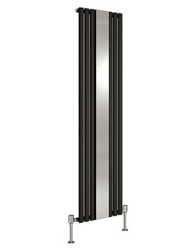 DQ Heating Cove Mirror Vertical 1800mm High Designer Radiator