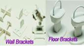 Wall / Floor Brackets