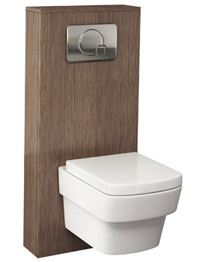 Pura Echo 500mm WC Cistern Frame Soft Oak Furniture Cover