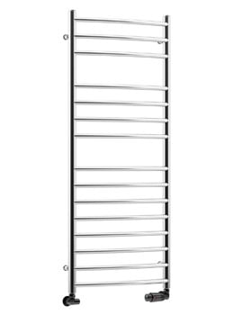 DQ Heating Zante 500 x 700mm Curved Vertical Heated Towel Rail