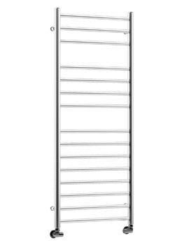 DQ Heating Siena Polished Stainless Steel Towel Rail 600 x 700mm