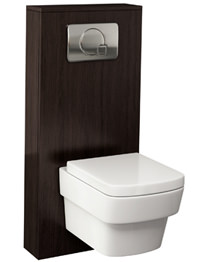 Pura Echo 500mm WC Cistern Frame Wenge Furniture Cover