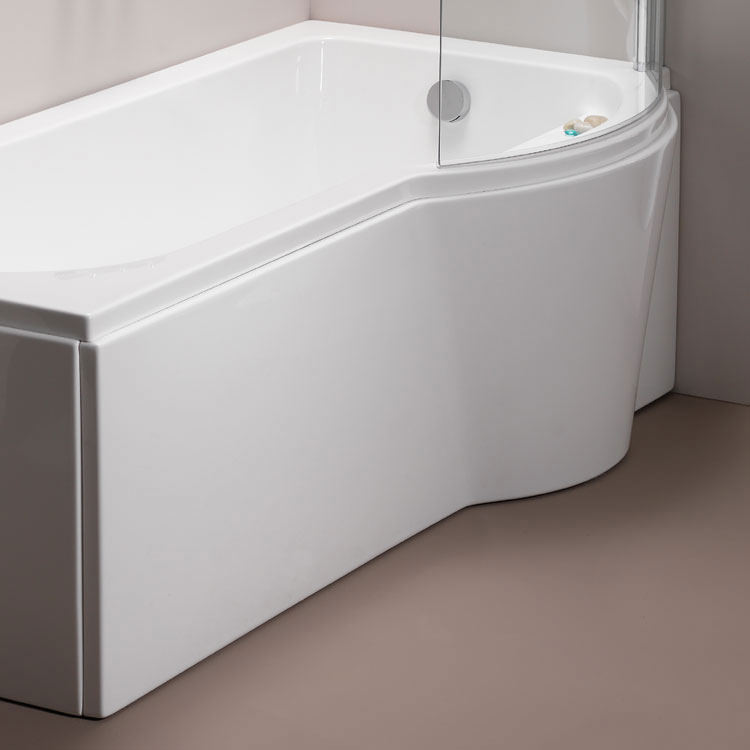Pura Arco Right Hand 1500mm Shower Bath Side Panel