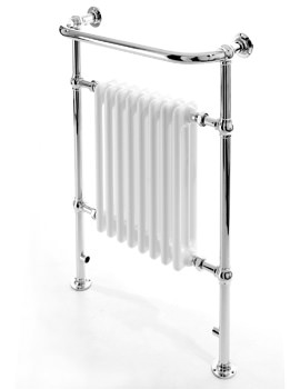 DQ Heating Croxton Essential Conventional Heating Towel Rail 680 x 952mm