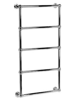 DQ Heating Elveden Wall Mounted Heated Towel Rail 484 x 1608mm