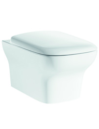 Pura Grace Wall Hung WC Pan And Soft Close Seat 500mm