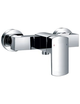 Flova Dekka Wall Mounted Exposed Manual Bar Shower Valve
