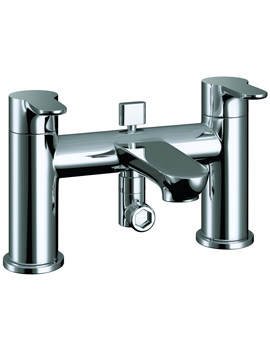 Pura Echo Deck Mounted Bath/Shower Mixer Tap With Kit