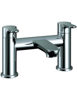 Pura Echo Deck Mounted Chrome Finish Bath Filler Tap
