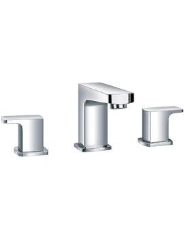 Flova Dekka Deck Mounted Chrome Finish 3 Hole Bath Filler Tap
