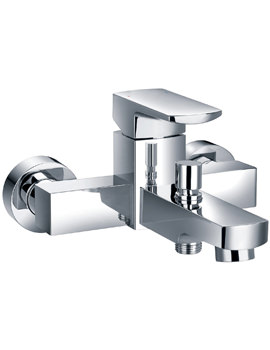 Flova Dekka Wall Or Deck Mounted Bath/Shower Mixer Tap