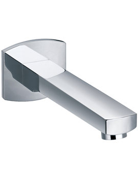 Flova Dekka Wall Mounted 210mm Spout For Basin And Bath