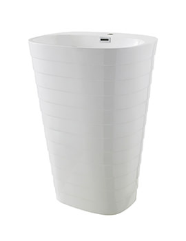 Hudson Reed Hive 600mm 1 Tap Hole Floor Standing Basin