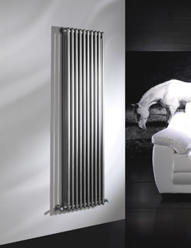 DQ Heating Modus 208 x 2500mm 3 Column White Radiator - 4 To 44 Sections