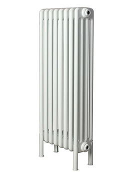 Apollo Roma 600 x 1600mm Steel 4 Column Radiator With Welded Feet