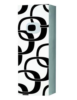 Laufen Mimo 360 x 1000mm Medium Cabinet White With Black Graphics