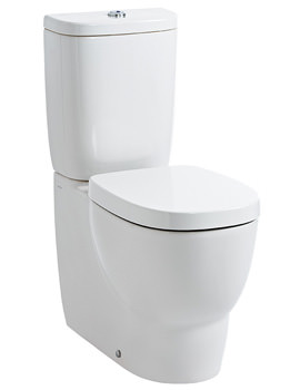 Laufen Mimo Floor Standing Back To Wall Close Coupled WC Pan And Cistern