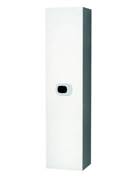 Laufen Mimo 360 x 1500mm White Tall Cabinet With Door Hinge Left