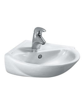 Laufen Pro B 495 x 500mm Corner Washbasin With 1 Tap Hole