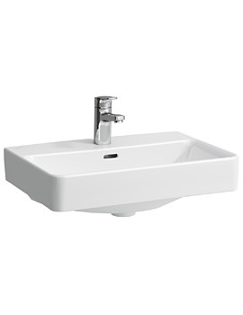 Laufen Pro A 600 x 480mm Ceramic Washbasin Without Tap Hole