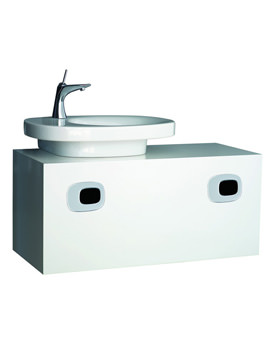 Laufen Mimo Wall Hung Left Hand Vanity Unit 1000 x 450mm