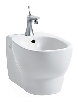 Laufen Mimo Wall Hung Bidet With 1 Centre Tap Hole - 500mm Projection