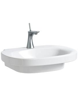 Laufen Mimo Undersurface Ground Washbasin 650 x 440mm No Tap Hole