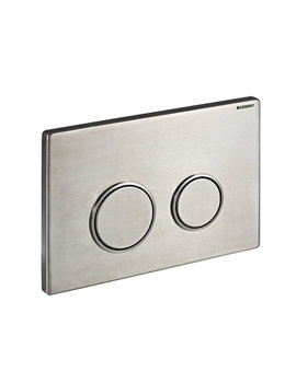 Geberit Sigma20 Stainless Steel Dual Flush Plate
