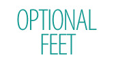 Feet for Vanity Unit