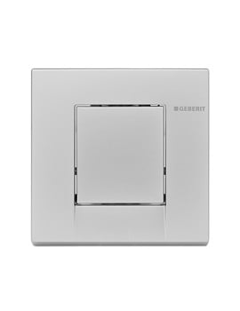 Geberit Hytouch Bolero Pneumatic Urinal Flush Control - White Alpin