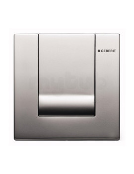 Geberit Hytouch Tango Pneumatic Urinal Flush Control - Gloss Chrome