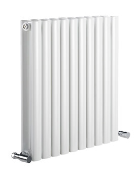 DQ Heating Cove 550mm High Double Sided Horizontal Radiator