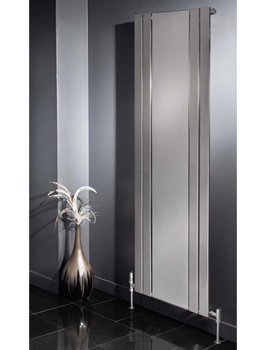 Apollo Capri 1800mm Height Radiator With Mirror