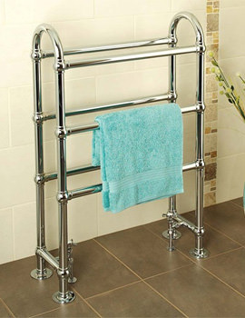 Apollo Ravenna CH Traditional Towel Warmer 695 x 1032mm