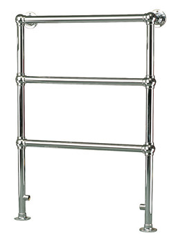 Apollo Ravenna PIA Traditional Towel Warmer 695 x 955mm Chrome