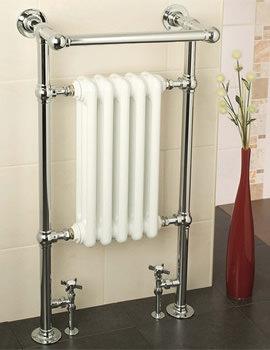 Apollo Ravenna Plus BJR Traditional Towel Warmer 510 x 955mm Chrome
