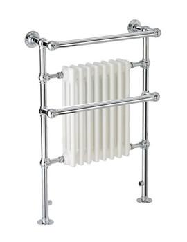 Apollo Ravenna Plus TBJR Traditional Towel Warmer 510 x 955mm Chrome
