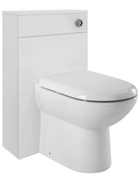 Ultra Design Back-To-Wall High Gloss White Unit With WC Pack