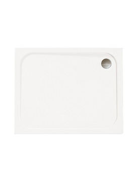 Merlyn Mstone Rectangular Shower Tray With Waste - 1100 x 800mm