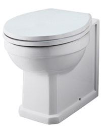 Ultra Lewiston Traditional Back-To-Wall WC Pan 520mm