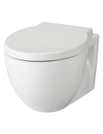 Lauren Holstein Wall Hung WC Pan With Soft-Close Seat