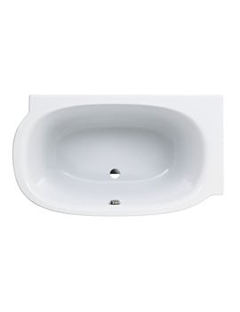 Laufen Mimo Right Corner Acrylic Bath 1400 x 800mm Without Frame