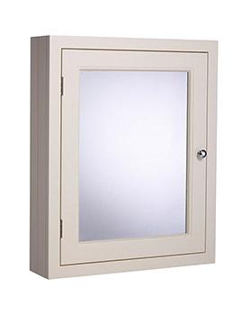 Roper Rhodes Hampton Vanilla 565mm Mirror Cabinet