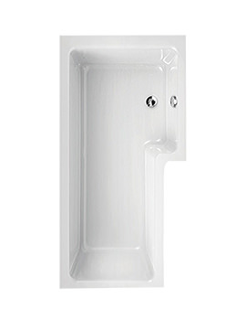 Aquaestil Thames White 1700 x 700mm Right Handed Corner Bath