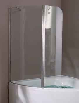 Aquaestil Gemma 1400mm Right Handed Shower Screen