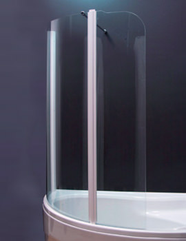 Aquaestil Olbia 1600mm Right Handed Shower Screen