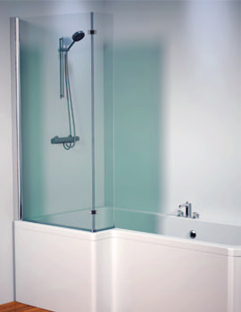 Aquaestil Thames 1500mm Left Shower Screen